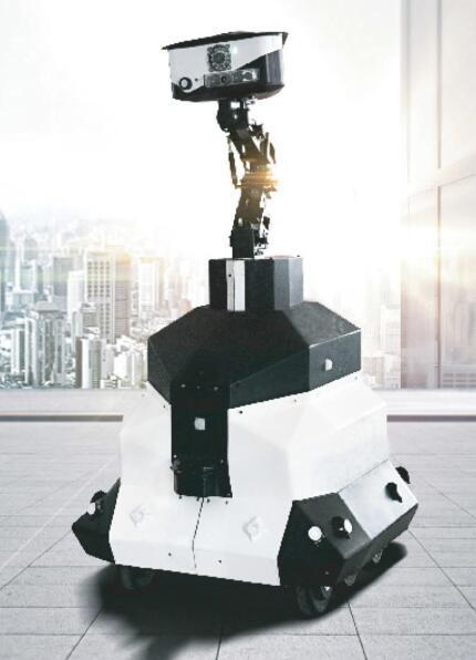 室外巡逻机器人-HUAN-JQR-1001