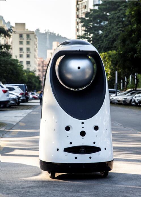 智能安保机器人HUAN-JQR-8001